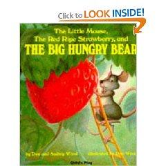 Strawberry hungry bear